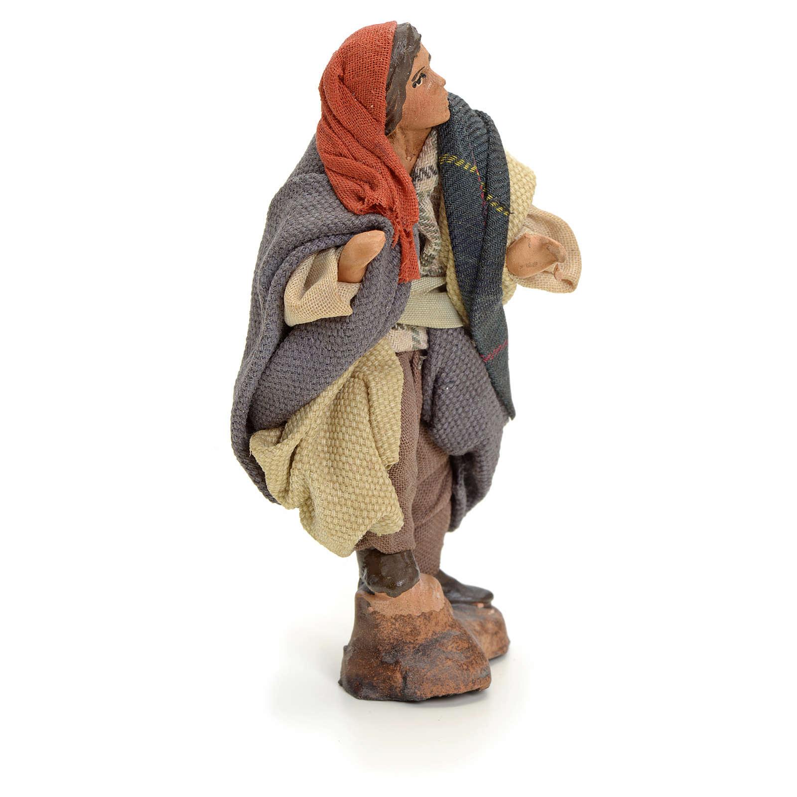 Neapolitan Nativity figurine, knife-grinder, 8 cm 4