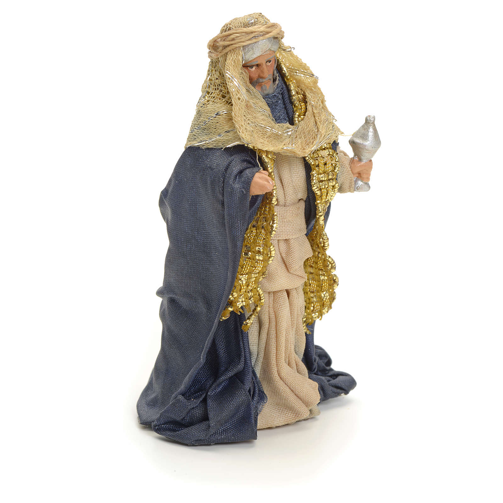 Roi Mages arabes crèche Napolitaine 8 cm 4