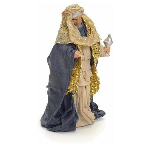 Roi Mages arabes crèche Napolitaine 8 cm 5