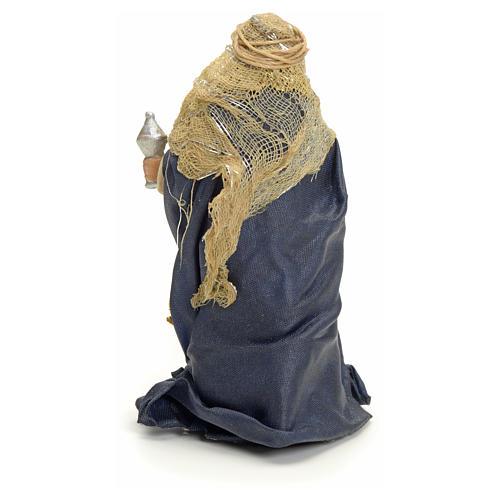 Roi Mages arabes crèche Napolitaine 8 cm 6