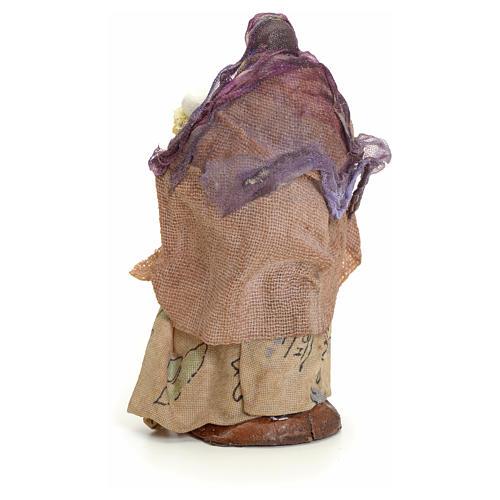 Porteuse de pain crèche Napolitaine 8 cm 3
