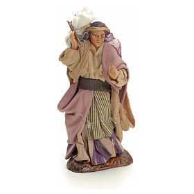 Neapolitan nativity figurine, Arabian woman, 8cm s1
