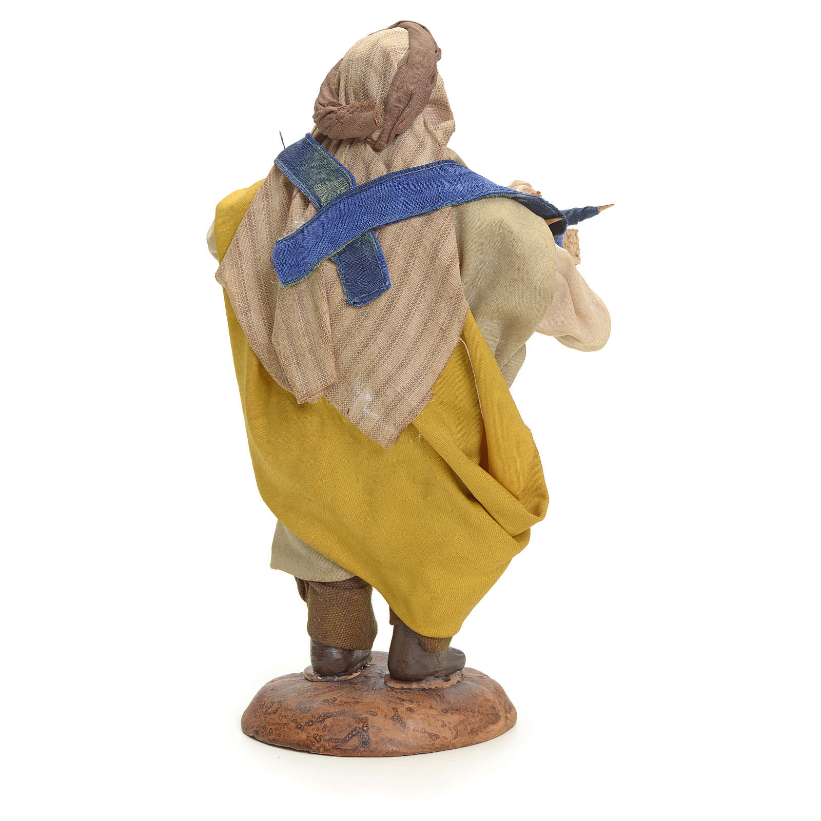 Neapolitan Nativity figurine, umbrella seller, 18 cm 4