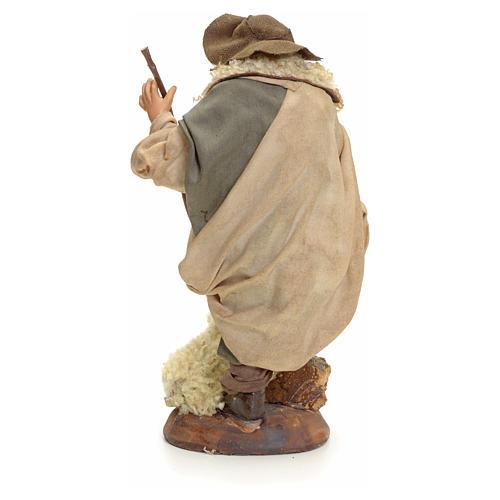Neapolitan Nativity figurine, shepherd, 18 cm 3