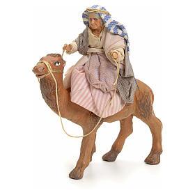 Anciana sobre camello cm 8 pesebre napolitano s1