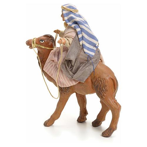 Anciana sobre camello cm 8 pesebre napolitano 3