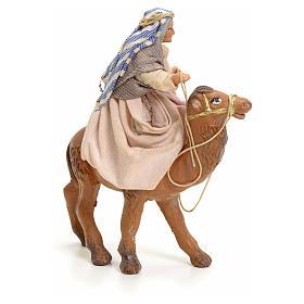Anziana su cammello cm 8 presepe napoletano s2