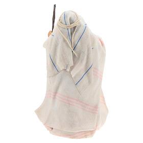 Mujer árabe con el bastón cm 8 pesebre napolitano s4