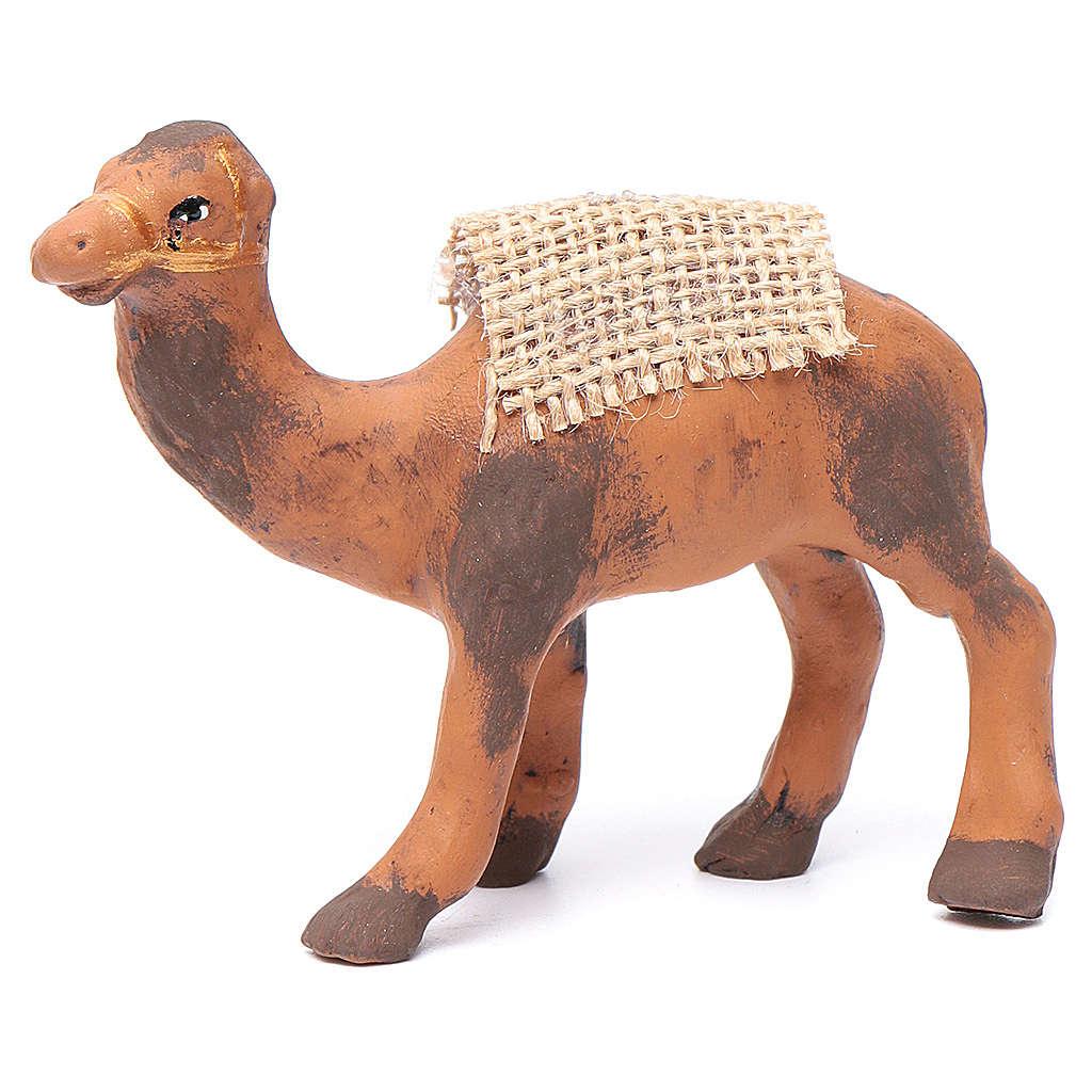 Neapolitan nativity figurine, standing camel, 8cm 4
