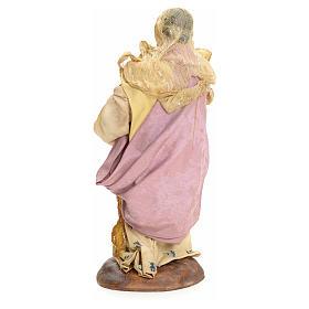 Donna con gallina 18 cm Presepe Napoletano s3