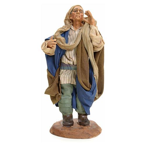 Chanteur crèche Napolitaine 18 cm 1