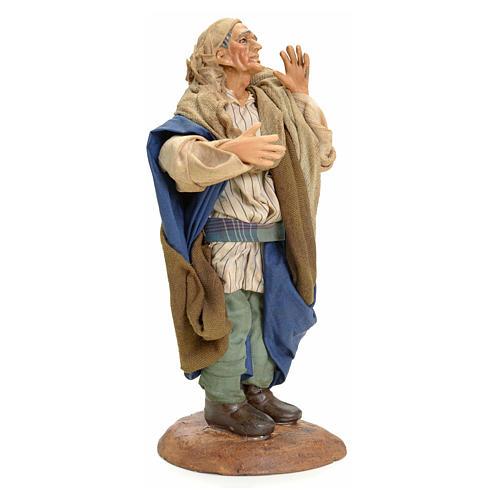 Chanteur crèche Napolitaine 18 cm 2