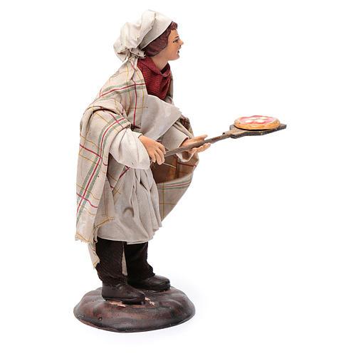 Pizzaiolo crèche Napolitaine 18 cm 4