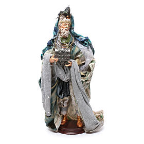 Neapolitan Nativity figurine, three wise kings, 45 cm s2
