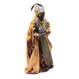 Neapolitan Nativity figurine, three wise kings, 45 cm s5