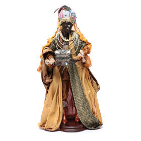 Neapolitan Nativity figurine, three wise kings, 45 cm s4