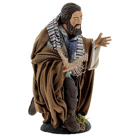Neapolitan Nativity figurine, beggar, 30cm s4
