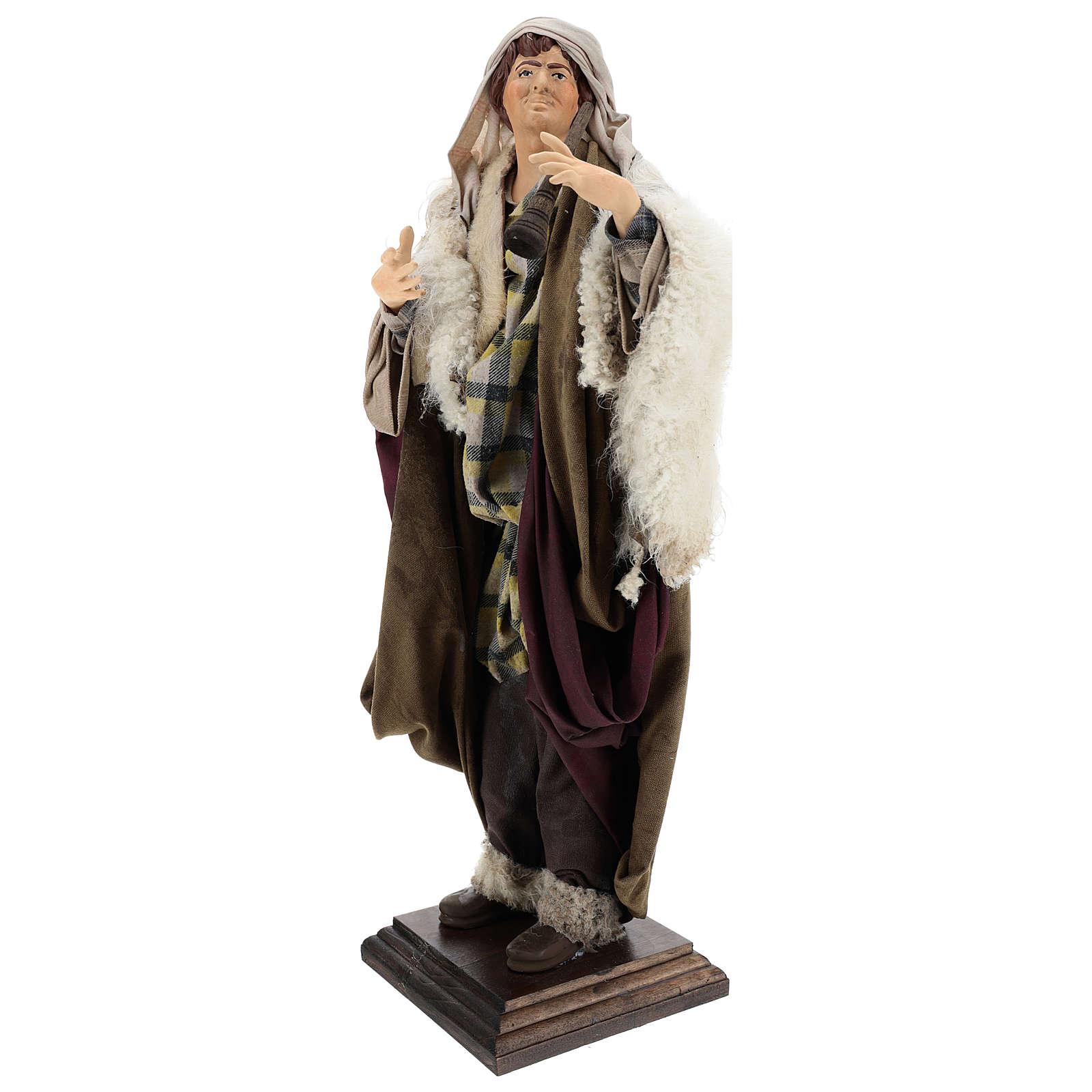 Neapolitan Nativity figurine, fifer, 45 cm 4