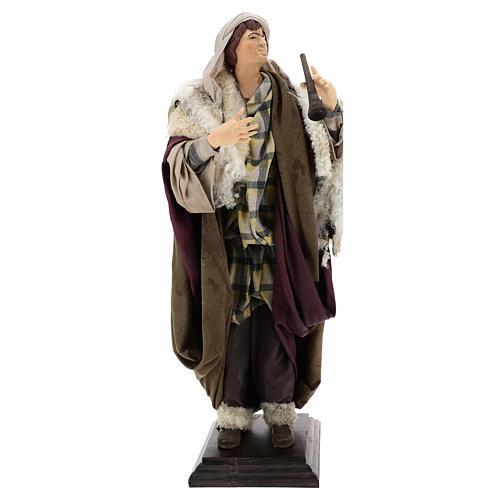 Neapolitan Nativity figurine, fifer, 45 cm 1