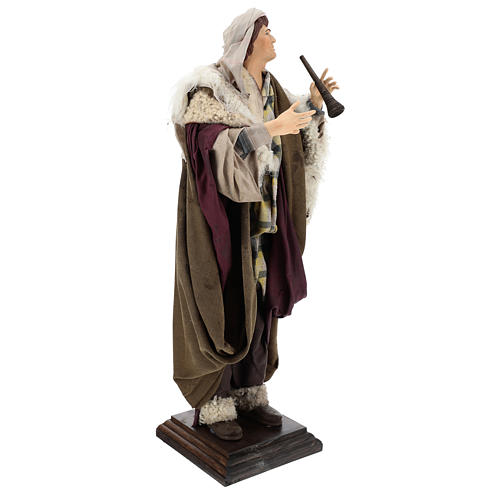 Neapolitan Nativity figurine, fifer, 45 cm 3
