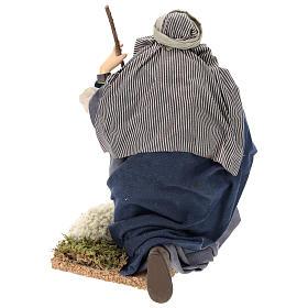 Chevrier à genoux crèche Napolitaine 30 cm s9