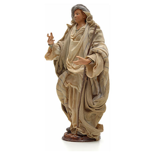 Neapolitan Nativity figurine, Arabian man with stick, 30 cm 2