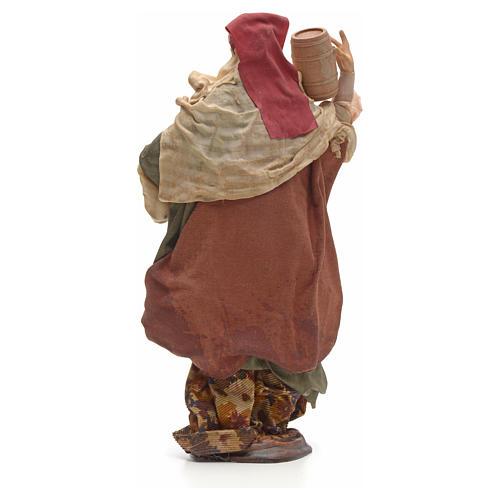 Donna con botte 30 cm presepe napoletano 3