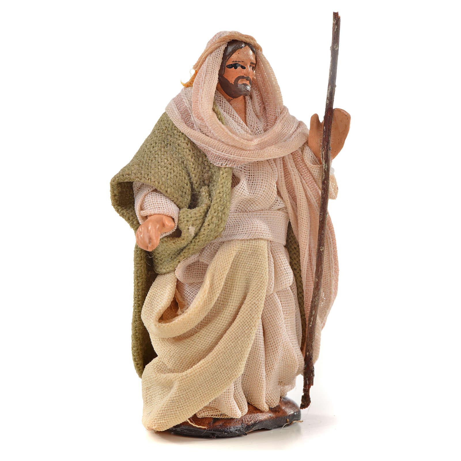 Sainte Famille crèche Napolitaine 6 cm style arabe 4