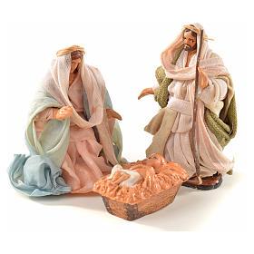 Sainte Famille crèche Napolitaine 6 cm style arabe s1