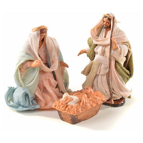 Sainte Famille crèche Napolitaine 6 cm style arabe 1