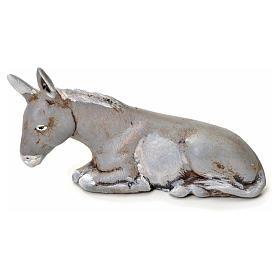 Neapolitan Nativity figurine, donkey, 6 cm s1