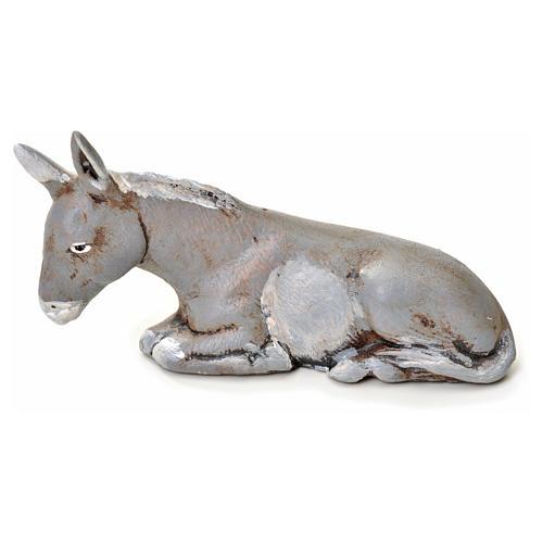 Neapolitan Nativity figurine, donkey, 6 cm 1