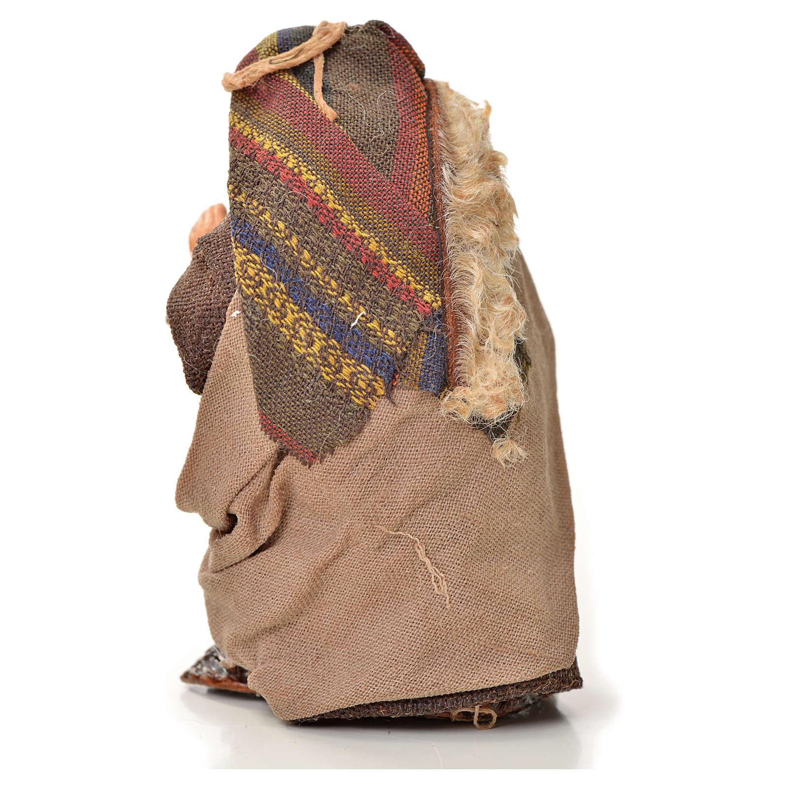 Neapolitan Nativity figurine, piper, 6 cm 4