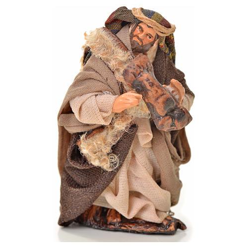 Neapolitan Nativity figurine, piper, 6 cm 1