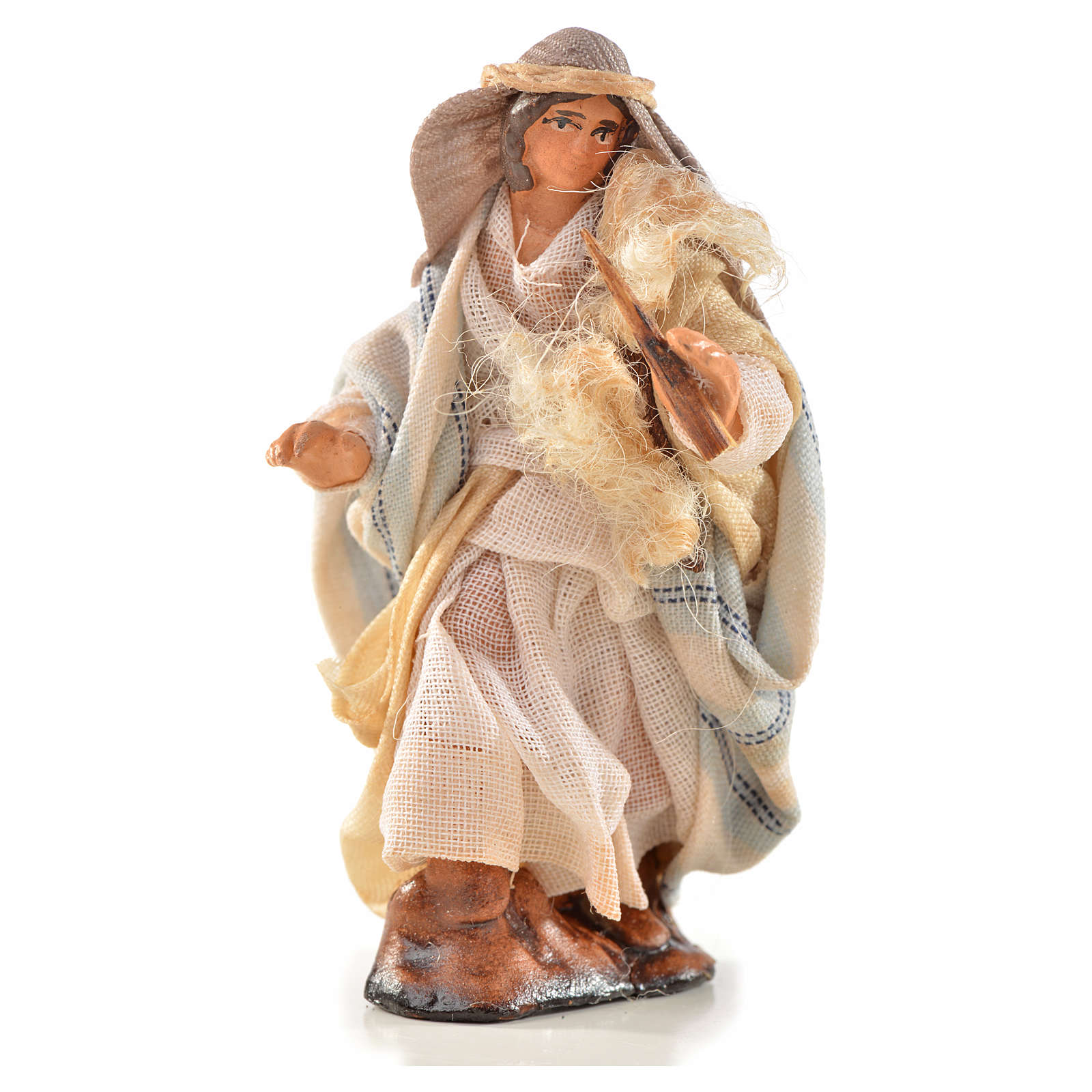 Neapolitan Nativity, Arabian style, fifer 6cm 4