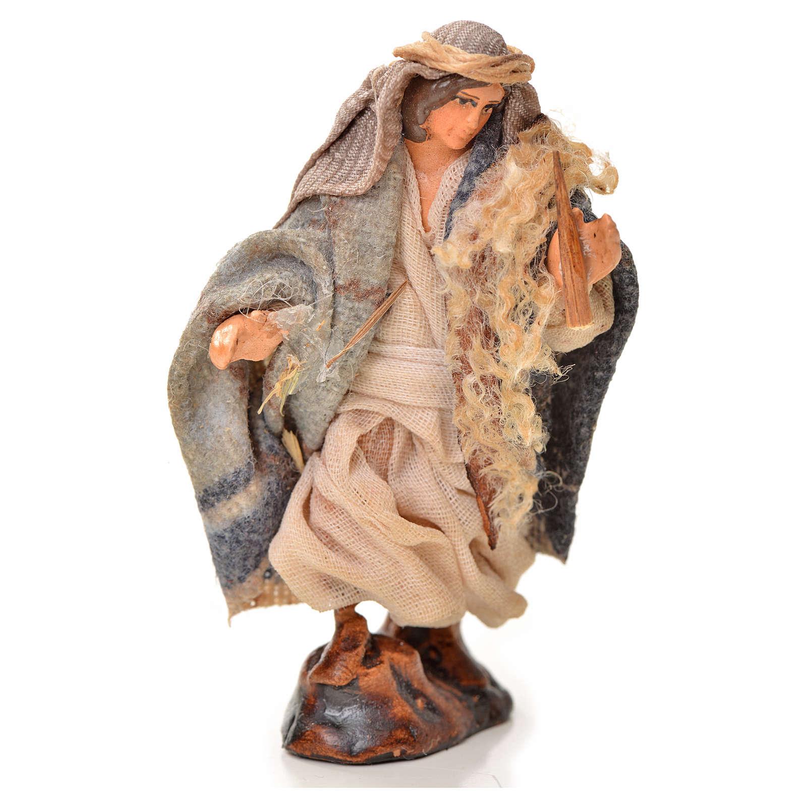 Neapolitan Nativity figurine, fifer, 6 cm 4
