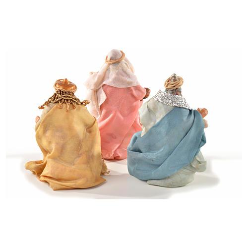 Neapolitan Nativity, Arabian style, three wise kings 6cm 2