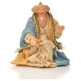Neapolitan Nativity figurine, three wise Kings, 6 cm s2