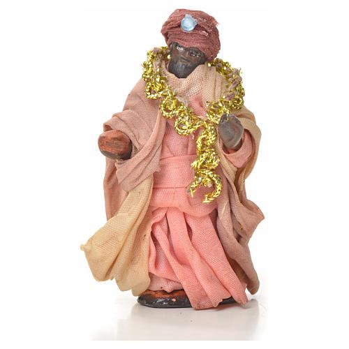 Neapolitan Nativity figurine, three wise Kings, 6 cm 3