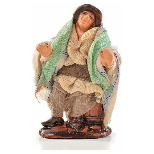 Neapolitan Nativity, Arabian style, man sitting 6cm 1