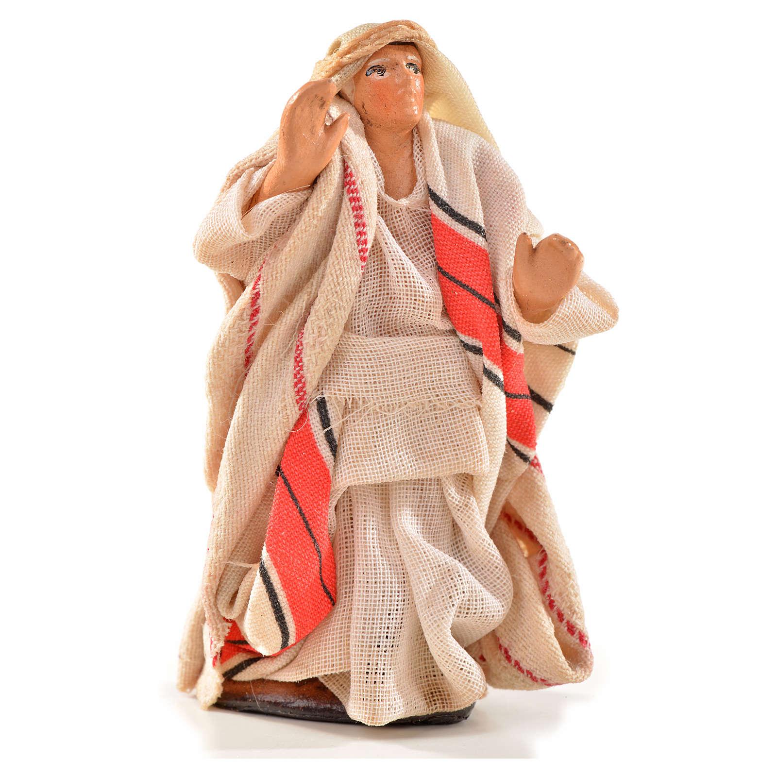 Neapolitan Nativity, Arabian style, man shouting 6cm 4