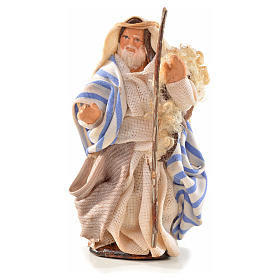 Neapolitan Nativity, Arabian style, man with stick 6cm s1