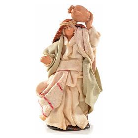 Neapolitan Nativity Scene: Neapolitan Nativity, Arabian style, man with amphora 6cm