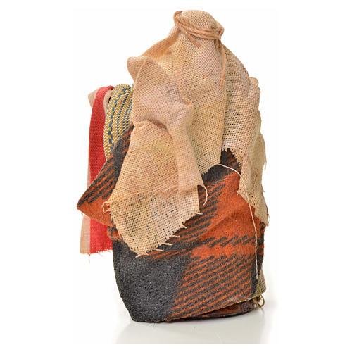 Vendeur de tissus crèche Napolitaine 6 cm 2