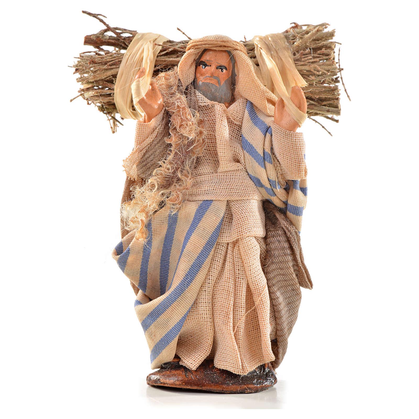 Neapolitan Nativity, Arabian style, woodsman 6cm 4