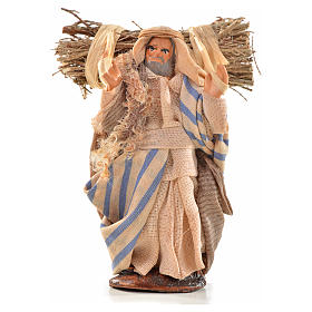 Neapolitan Nativity, Arabian style, woodsman 6cm s1