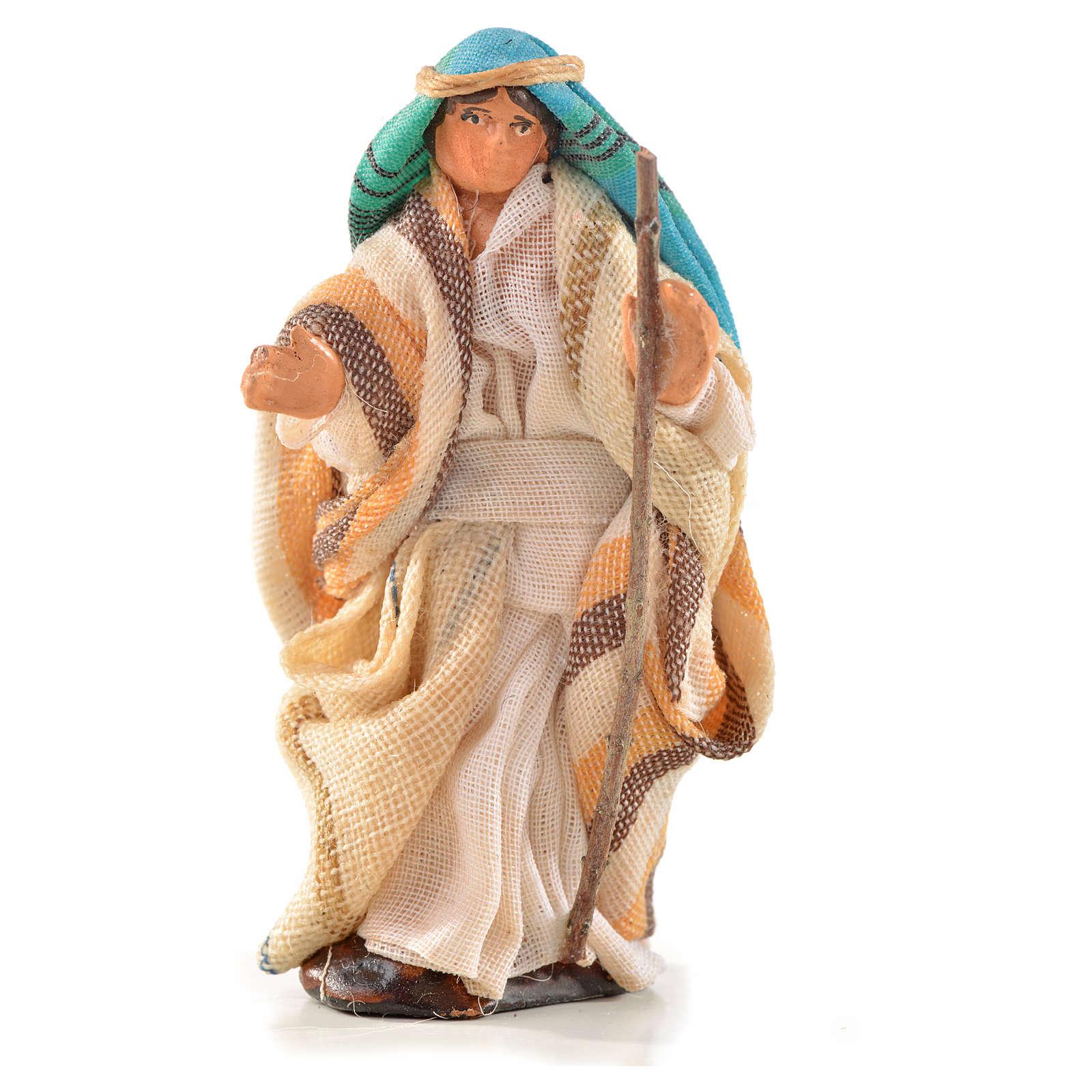 Homme arabe crèche Napolitaine 6 cm 4