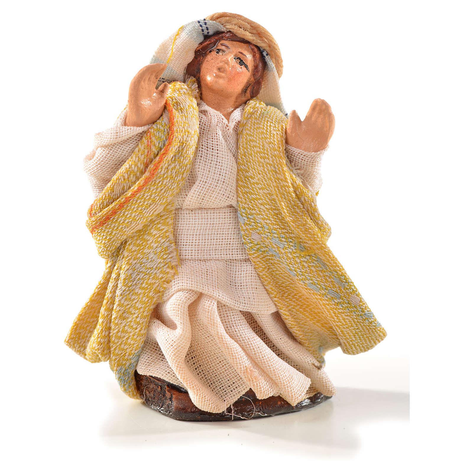 Neapolitan Nativity, Arabian style, astonished man 6cm 4