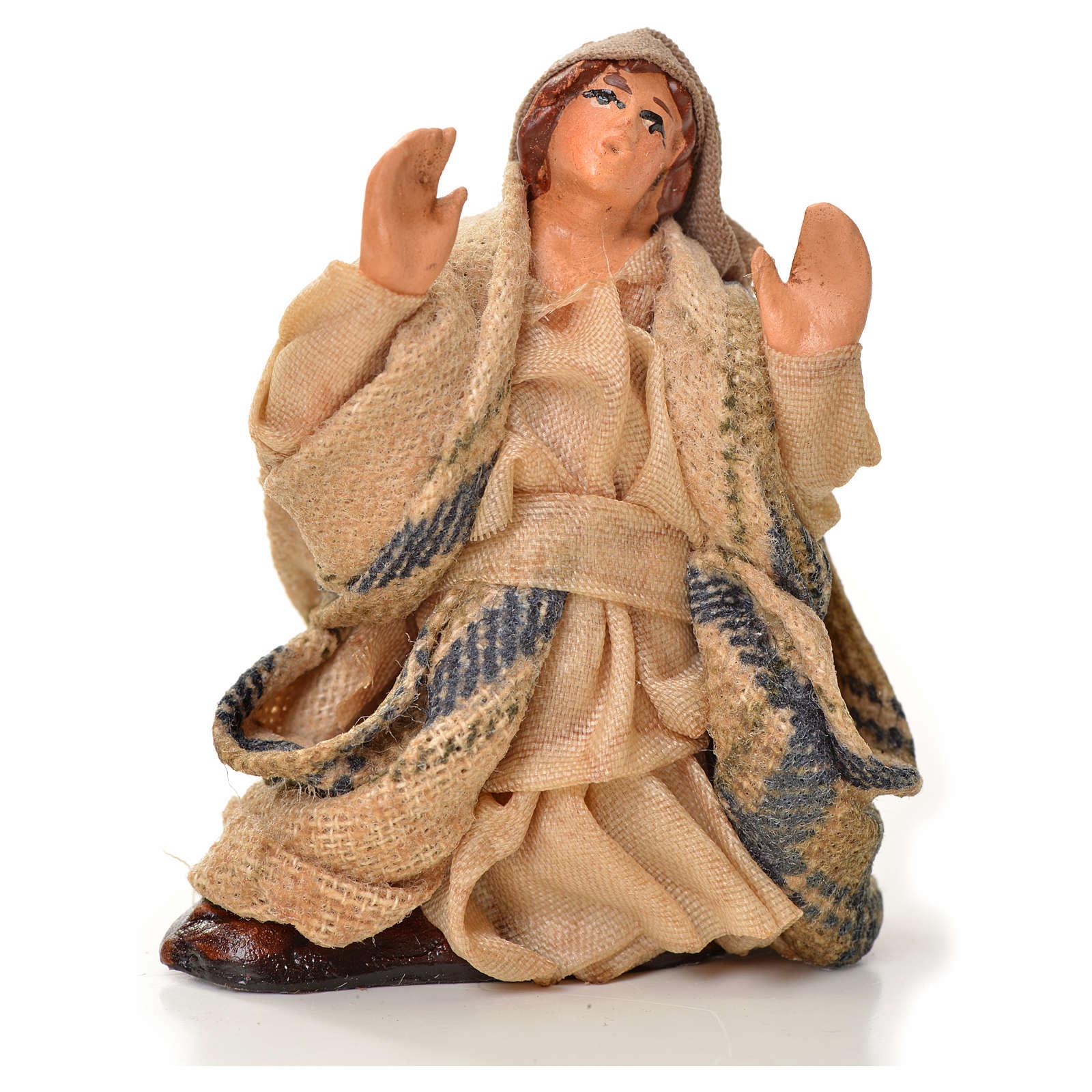 Neapolitan Nativity figurine, astonished man, 6 cm 4