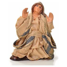 Neapolitan Nativity figurine, astonished man, 6 cm s1